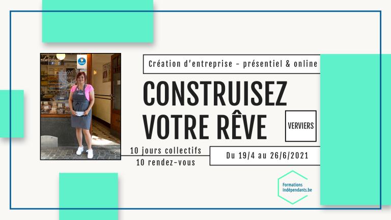 Construisez votre rêve Formations / Ateliers Verviers
